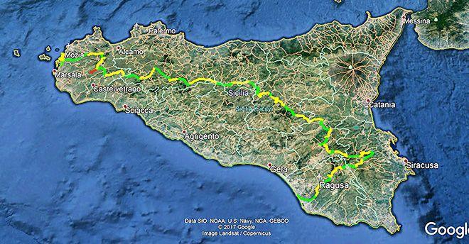 Walkers from all over the world unite//Attraversare la Sicilia e le sue meraviglie