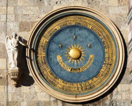 The astronomical clock of Messina