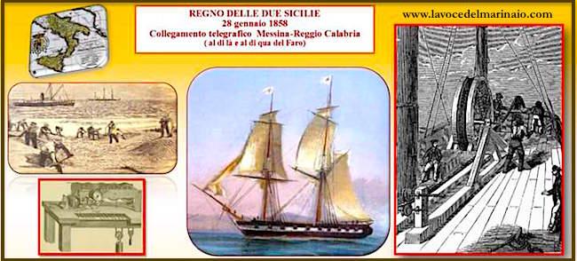 Collegamento telegrafico Messina – Reggio Calabria (1858)